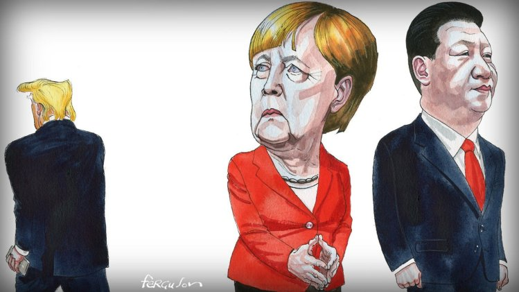 Merkel, Trump and Xi